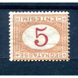 1890 - ITALIA - SEGNATASSE...
