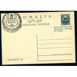 1980 SOMALIA CARTOLINA...