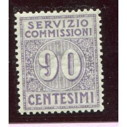 1913 SERZIZIO COMMISSIONI...