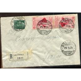 1934 Italia Raccomandata...