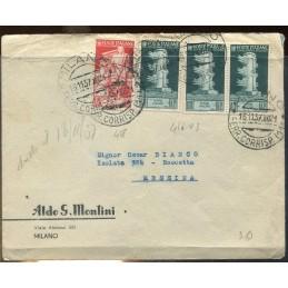 1937 Italia lettera con...