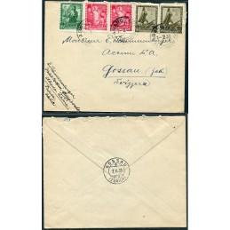1939 Italia lettera per la...