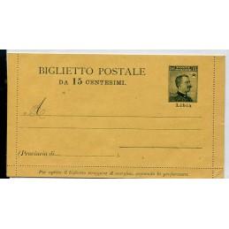 1915 Libia Biglietto...