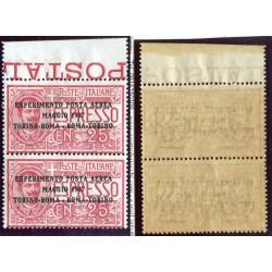 1863 ITALIA VITT. EMANUELE C.60 LILLA CHIARO N.PZ1  MNH  ALB211