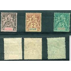1892 GUYANE FRANCSE...