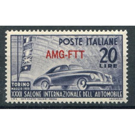 1950 Trieste A 32° Salone Automobile Torino mnh n.70 foto d'esempio