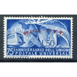 1949 Trieste A UPU n.40 mnh...