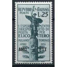 1954 Trieste A Elicottero...
