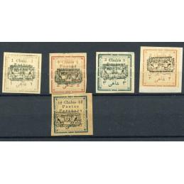1903 Persia-Iran n.181/85...