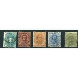 1891  ITALIA REGNO  N.59/63...