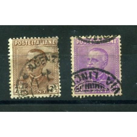 1928 ITALIA REGNO VITT. EMAUELE 3°    N.224/25  USATI  LNT499