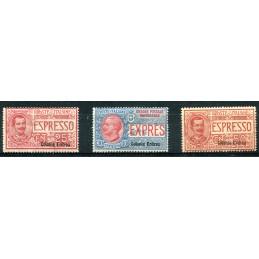 1907/21 Eritrea Espressi...