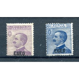 1912 Egeo soprastampati...