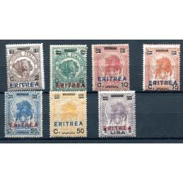 1924 Eritrea Francobolli di...