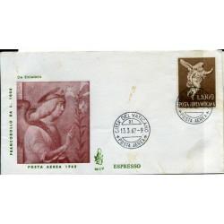 1962 VATICANO POSTA EREA...