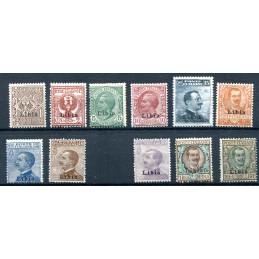 1912/18 Libia soprastampati...