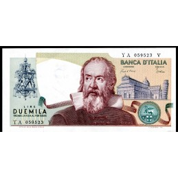 Lire 2.000 Galileo Galilei....