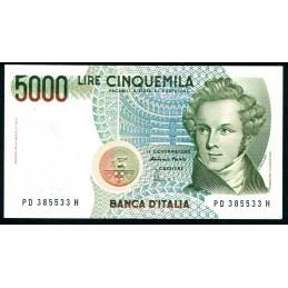 Lire 5.000 Bellini, D1996....