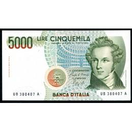 Lire 5.000 Bellini, B 1988....
