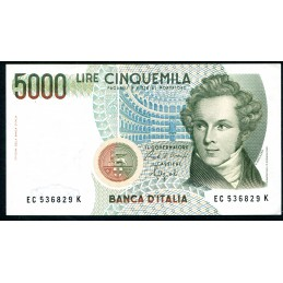 Lire 5.000 Bellini, C 1992....
