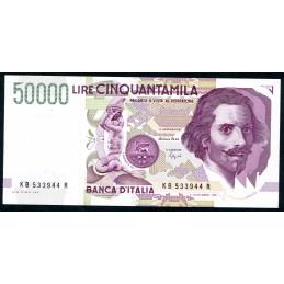Lire 50.000 Bernini, 2°...