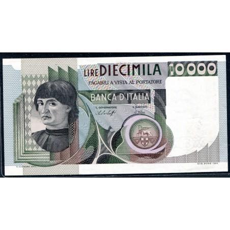 Lire 10.000 Del Castagno, 30/06/1976. Gig. BI75A. FDS