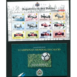 1998 San Marino annata Cpl mnh