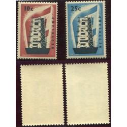 1956 OLANDA EUROPA N.659/60...