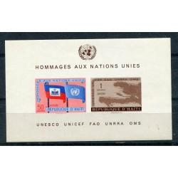 1958 HAITI  BF. N.10 MNH...