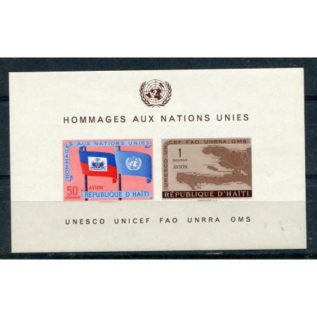 1958 HAITI  BF. N.10 MNH   ONT091