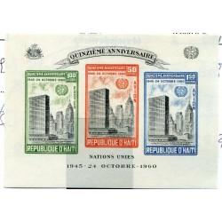 1960 HAITI  BF. N.15 MNH...