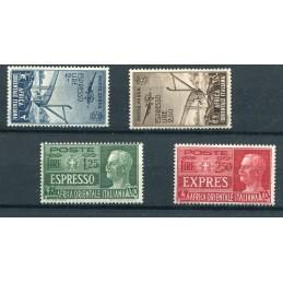 1938 Africa Orientale posta...