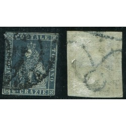 1851/52 TOSCANA 6CR ARDESIA...