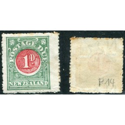 1913 NEW ZEALAND POSTAGEDUE...