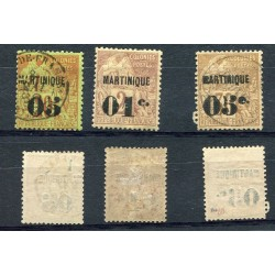 1888 MARTINIQUE  USED MH...