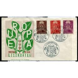 1957 EUROPA LUSSEMBURGO PAX...