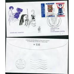 2003 VATICANO EUROPA FDC...