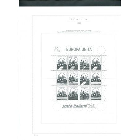 1993 Italia fogli di aggiornamento Marini  Europa come nuovi n.6