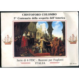 1992 Italia 5° Centenario...