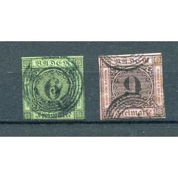 1851 Baden Germania n.3/4...