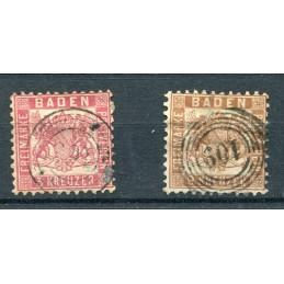 1862/65 Baden Germania...