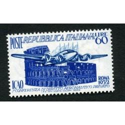 1952 ITALIA REPUBBLICA ICAO...
