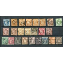 1862/84 Francia lotto di...