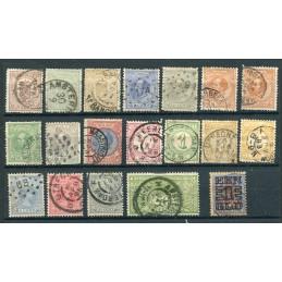 1869/1923 Olanda lotto di...