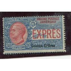 1907 ITALIA REGNO ERITREA...