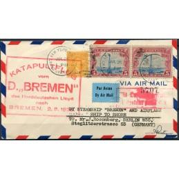 1926 Katapultflug vom D....