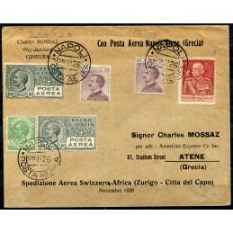 1926 Posta aerea Napoli -...