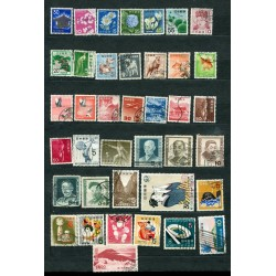 JAPAN SMALL LOT FO STAMPS...