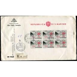 1962 San Marino FDC...