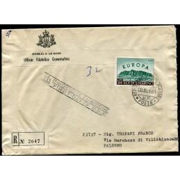 1961 San Marino FDC Europa...